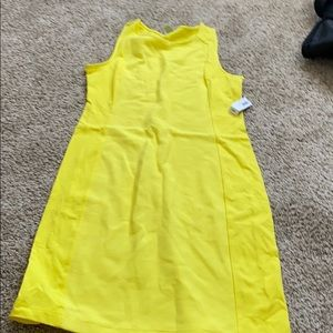 Bright Yellow Bodyfit Dress
